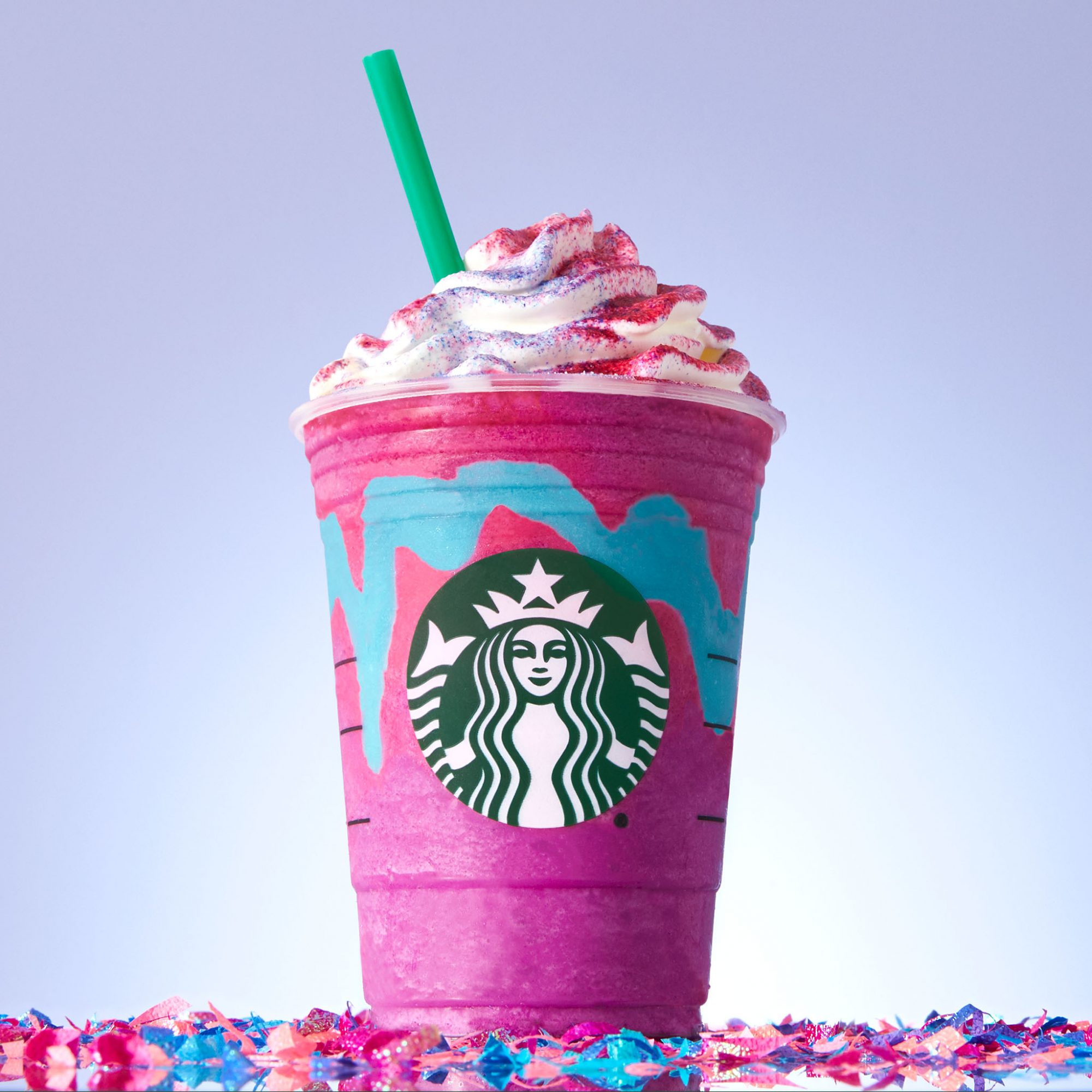 Woman Reveals Pregnancy to Her Husband with a Unicorn Frappuccino