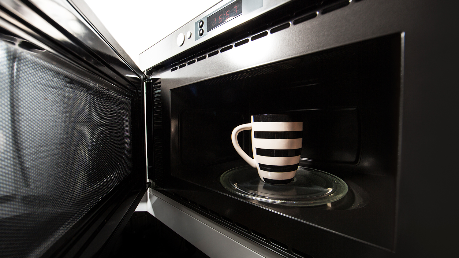 warming tea in microwave