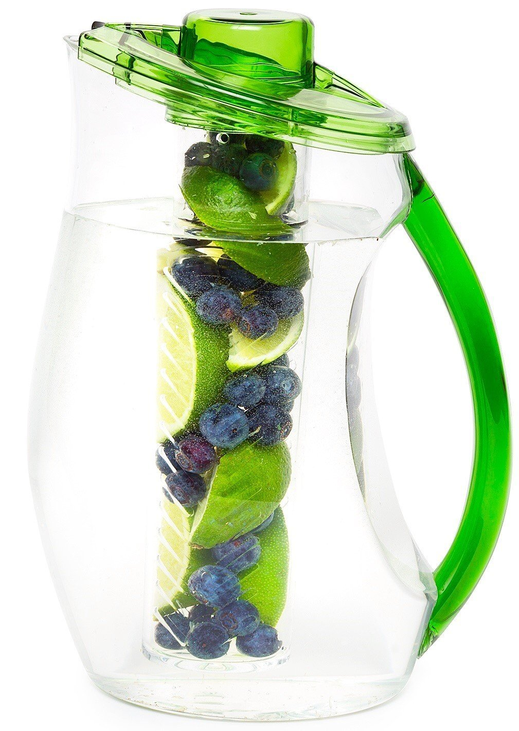 Water pitcher with infuser on sale
