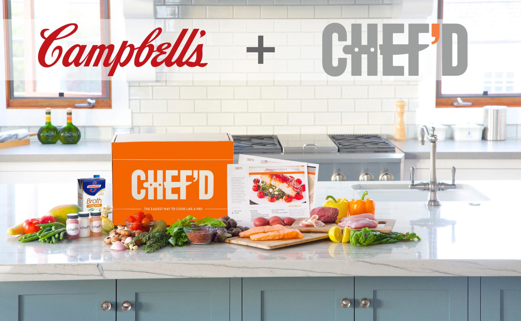 Exclusive: Campbell Soup Invests $10M in Meal Kit Startup Chef'd