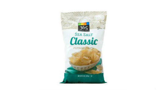 365 Sea Salt Classic Chips