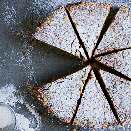 Rick Bayless: Mexican Chocolate Chip-Pumpkin Seed Cake