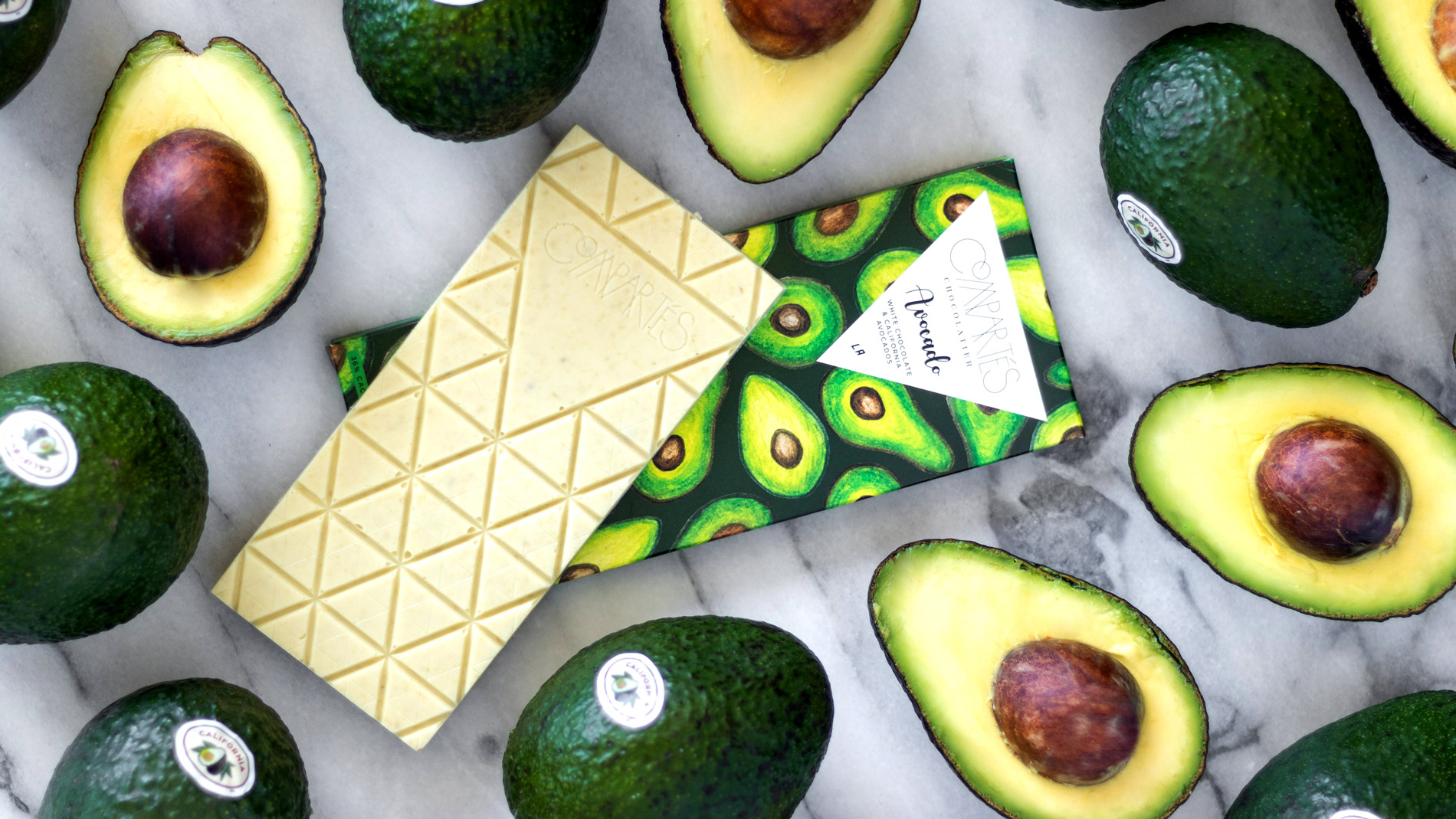 Compartés Avocado Chocolate Bar