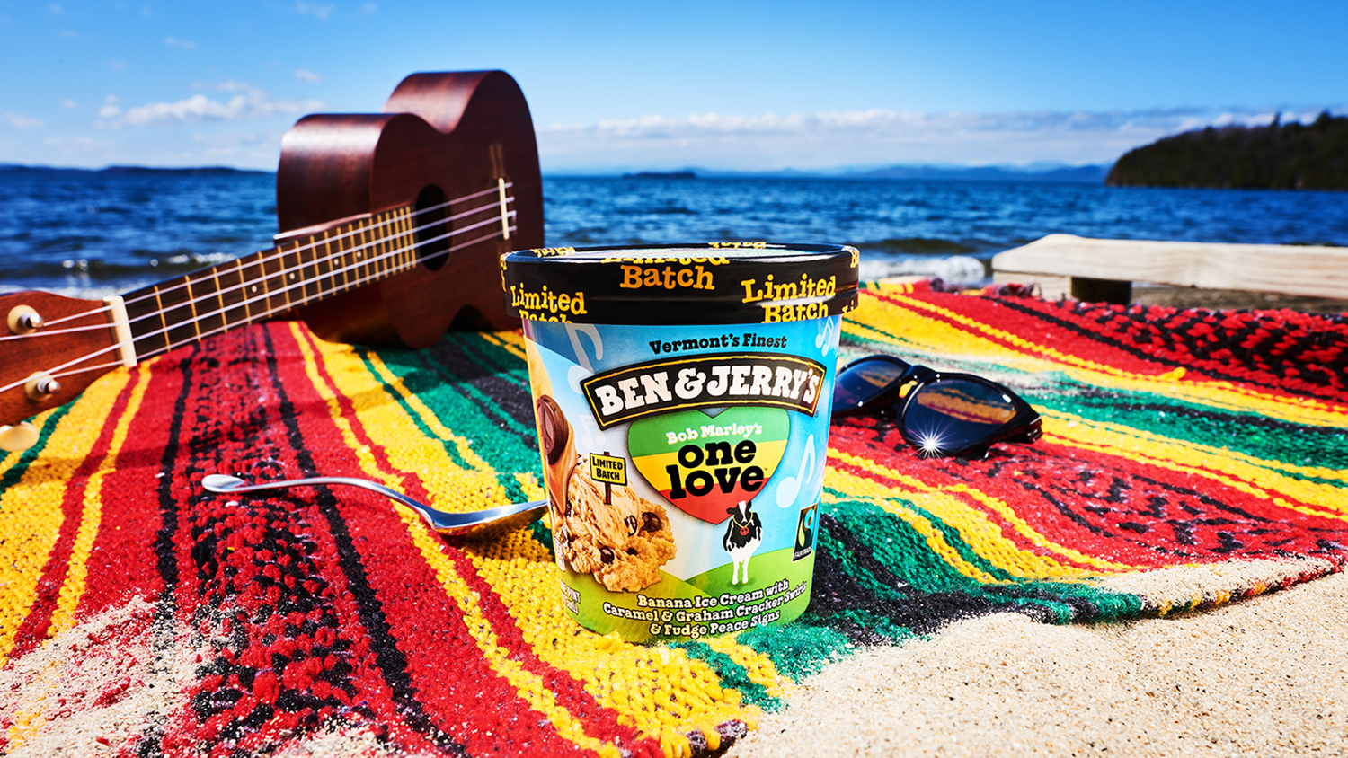 one love bob marley ice cream