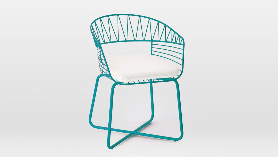 West Elm Soleil Metal Bistro Chair