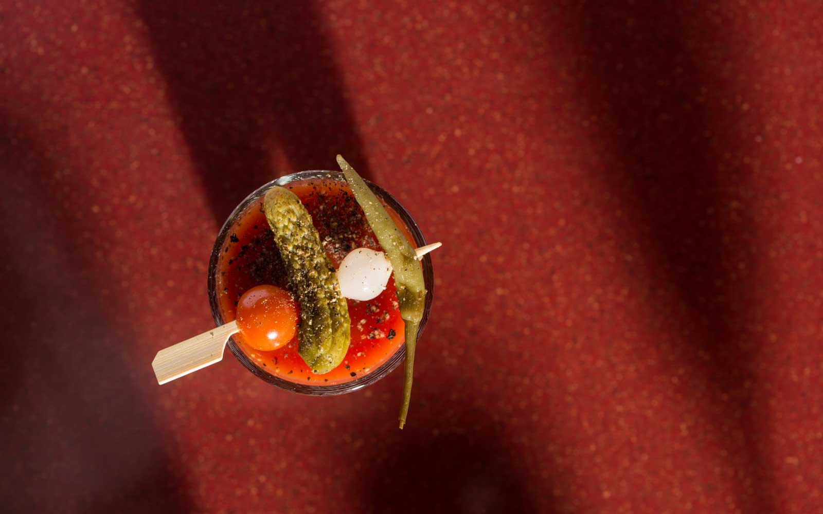 Why the Bloody Mary Tastes Extra Delicious on Airplanes