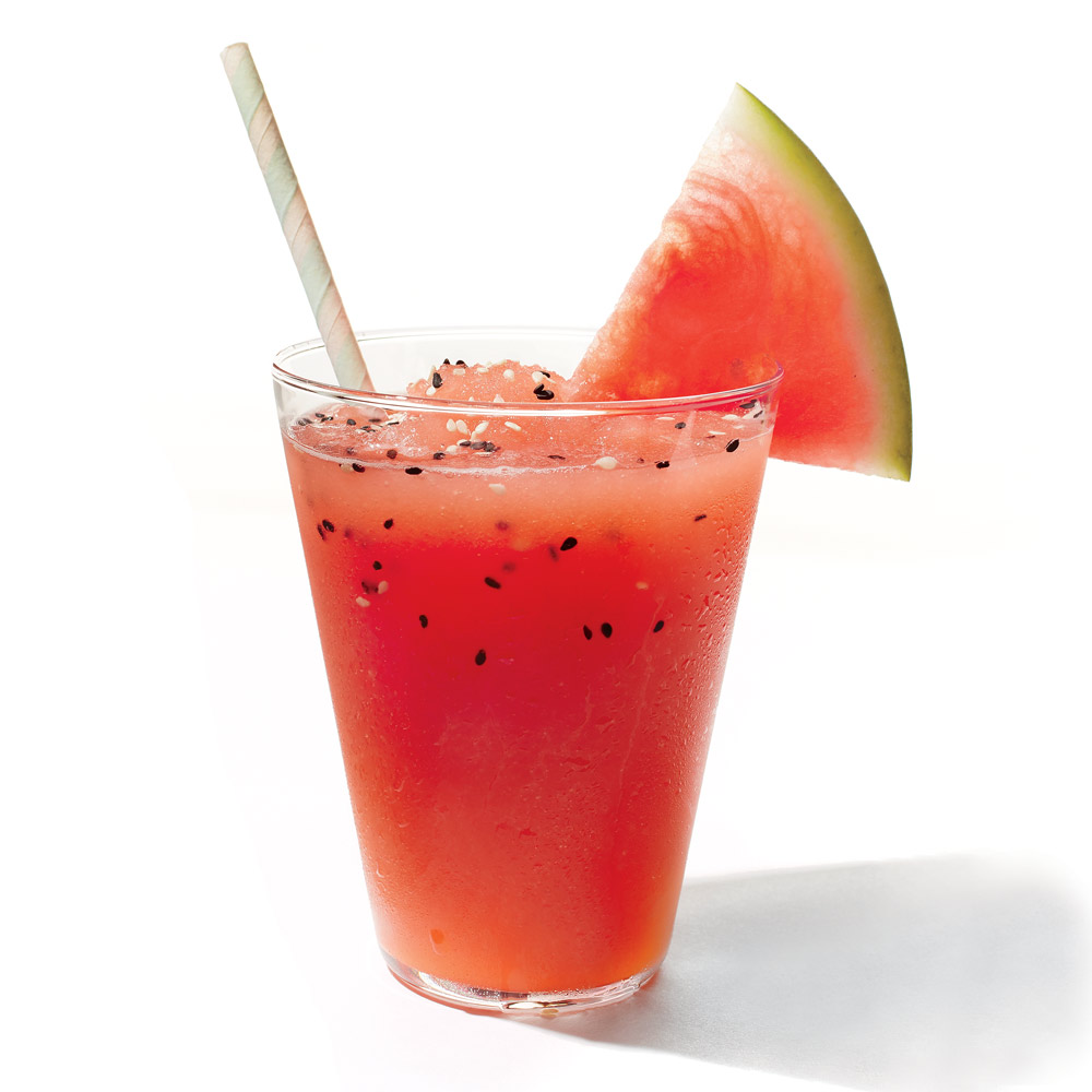 Boozy Watermelon Slushy