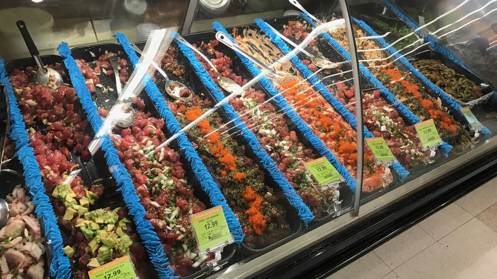 Poke Selection in Maui