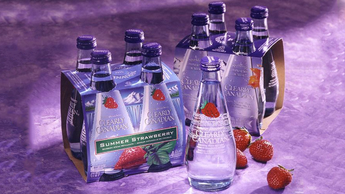 90s Lovers, Rejoice: Clearly Canadian Is Back on Shelves