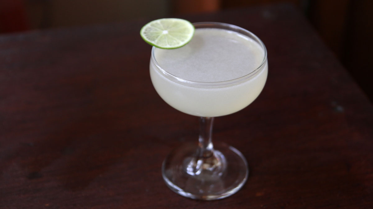 Coconut and Tequila Cocktail