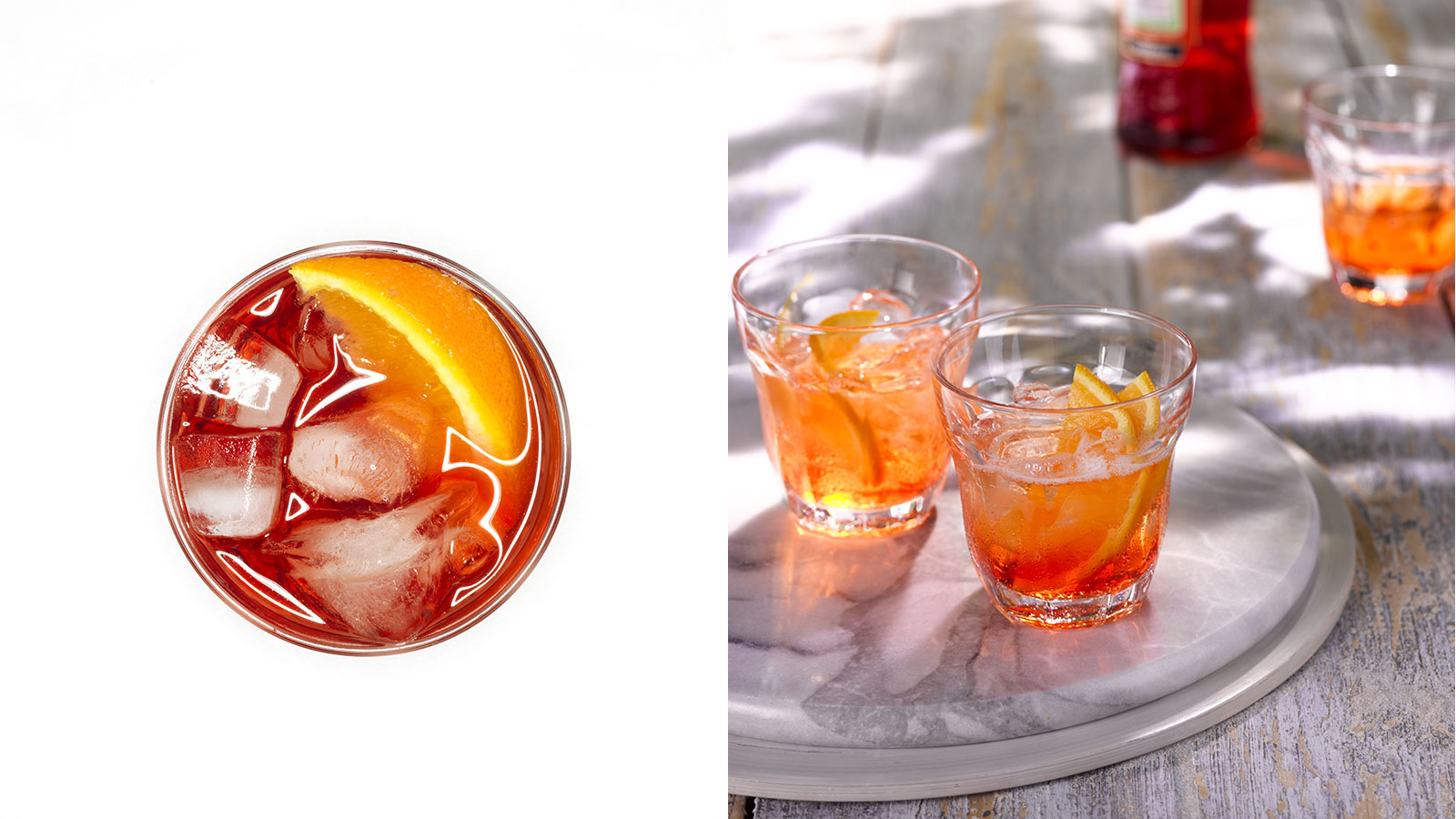The Difference Between Campari & Aperol