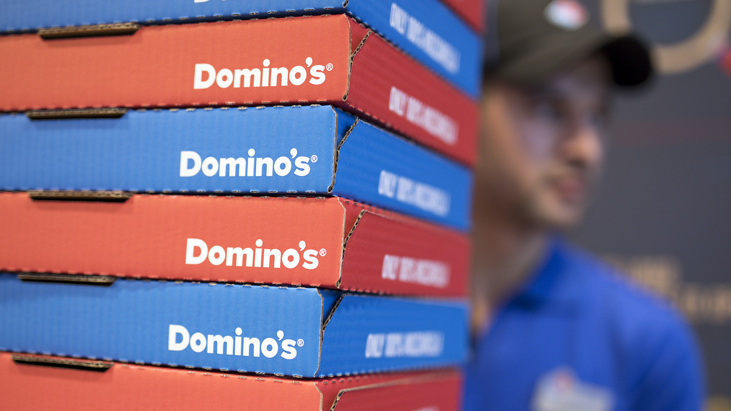 Domino's stock increase