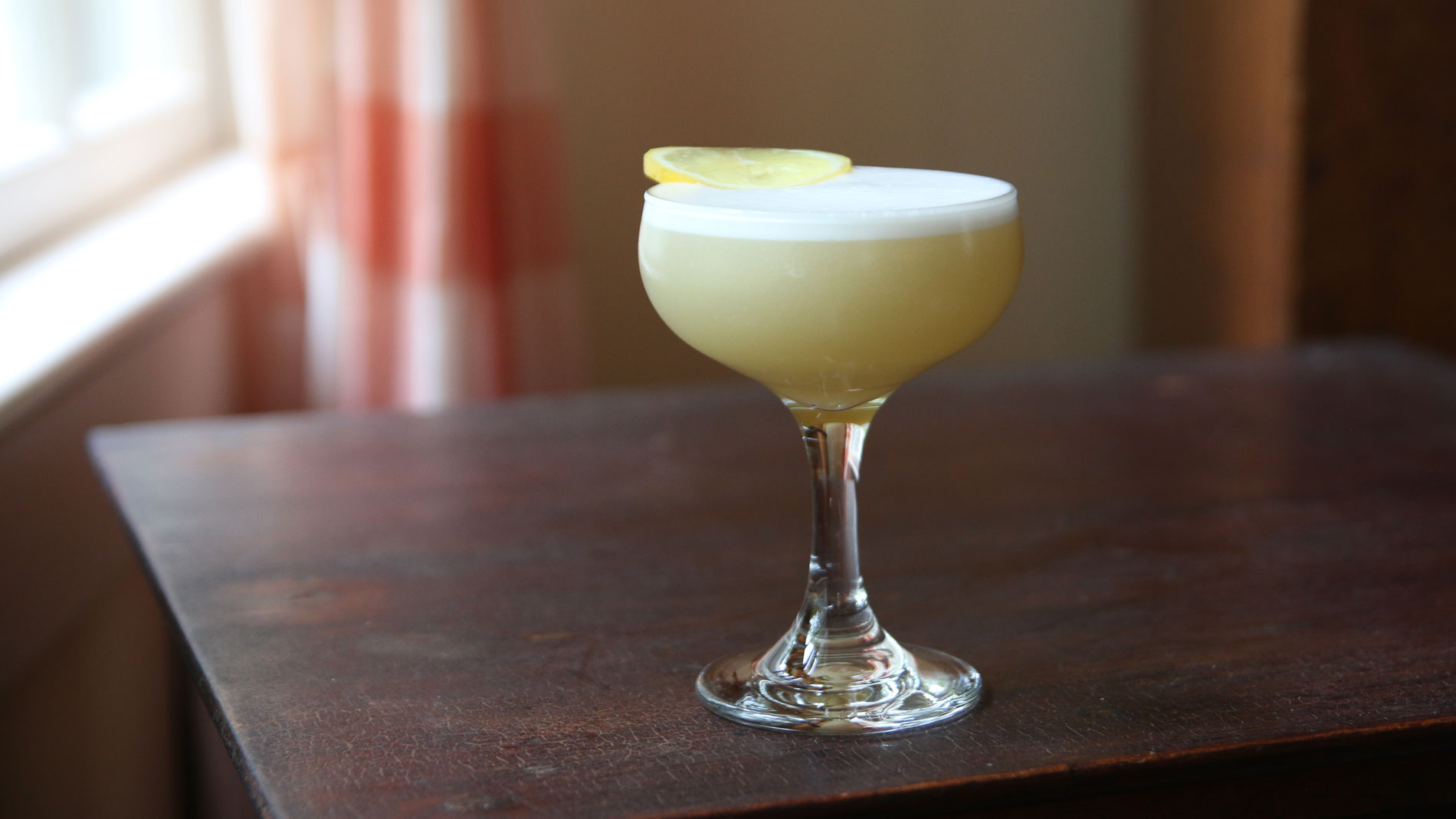 Elderflower Scotch Sour
