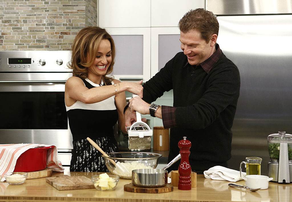 Giada de Laurentiis and Bobby Flay