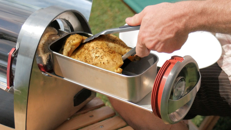 The GoSun Grill Lets You Cook with Only the Sun as Fuel