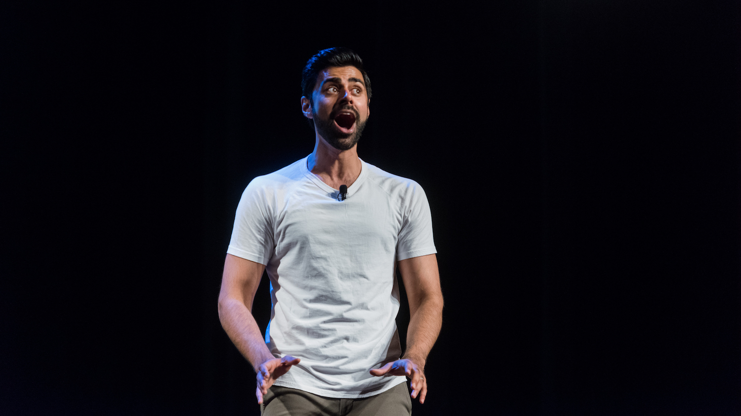 Why Hasan Minhaj won't eat ketchup