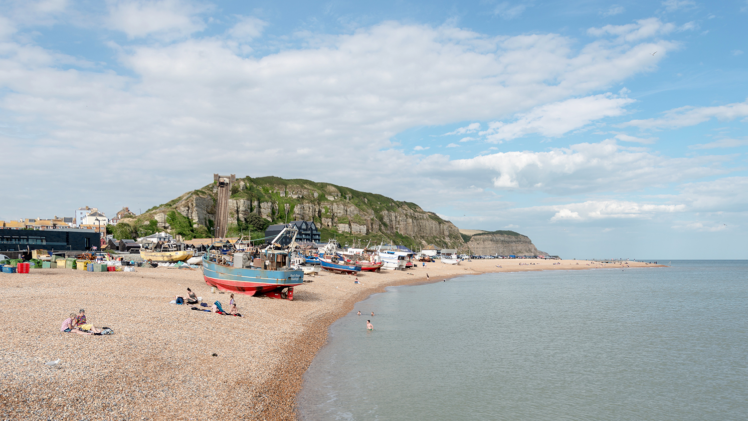 hastings beach east sussex