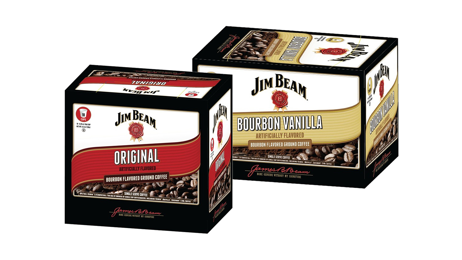 jim beam bourbon coffee white coffee corp