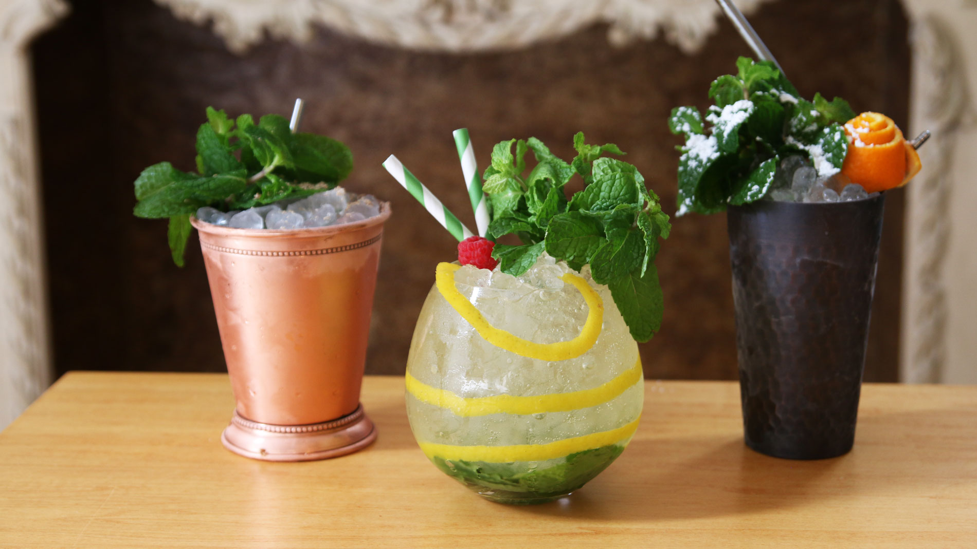 3 Gorgeous Juleps for Your Derby-Watching Pleasure