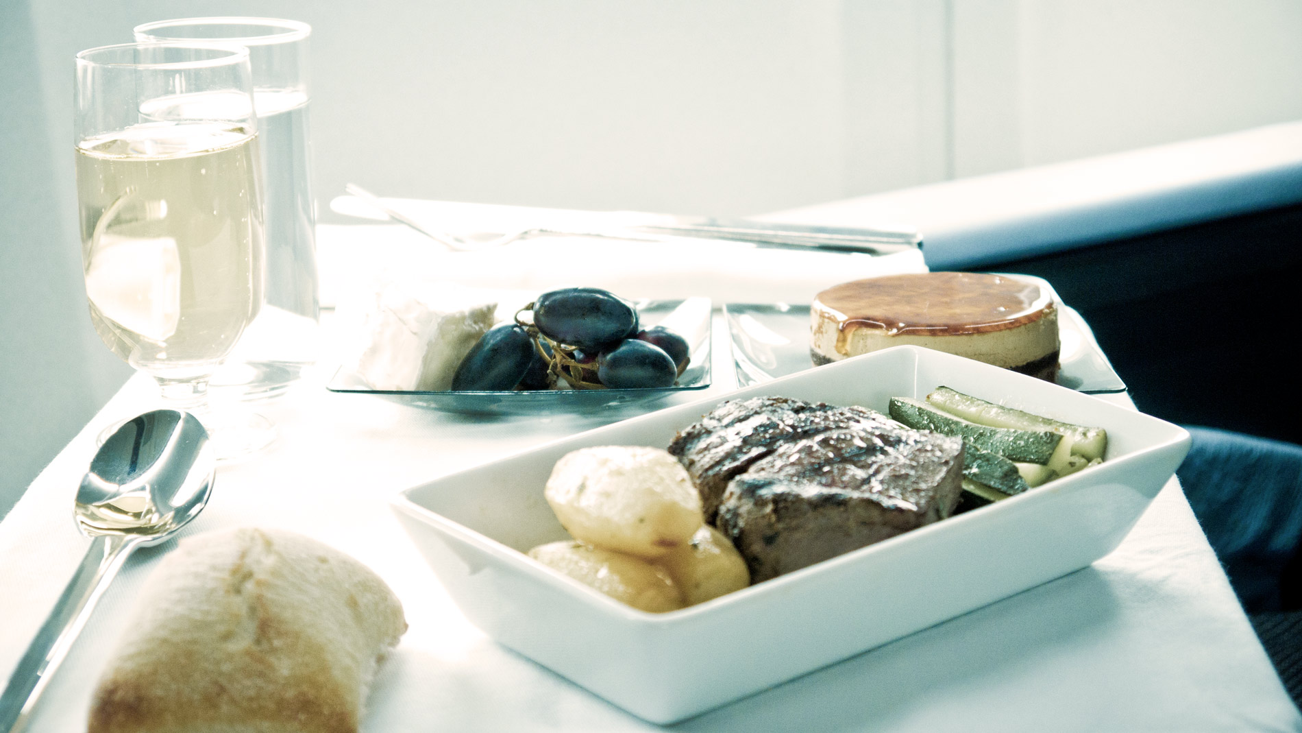 How a Fine-Dining Chef Tackles Boring, Bland Airplane Food | Food & Wine