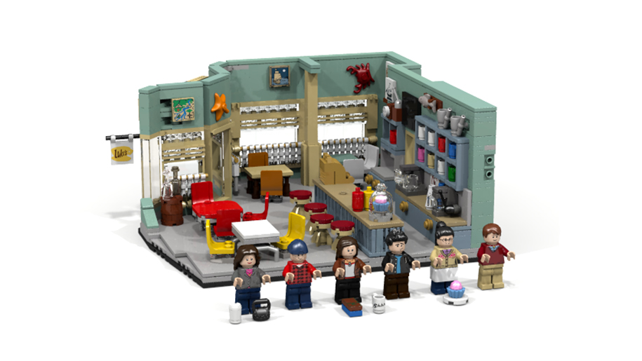gilmore girls diner lego set idea