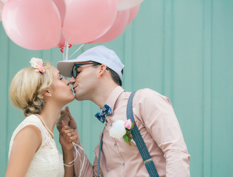 Millennial Pink Weddings