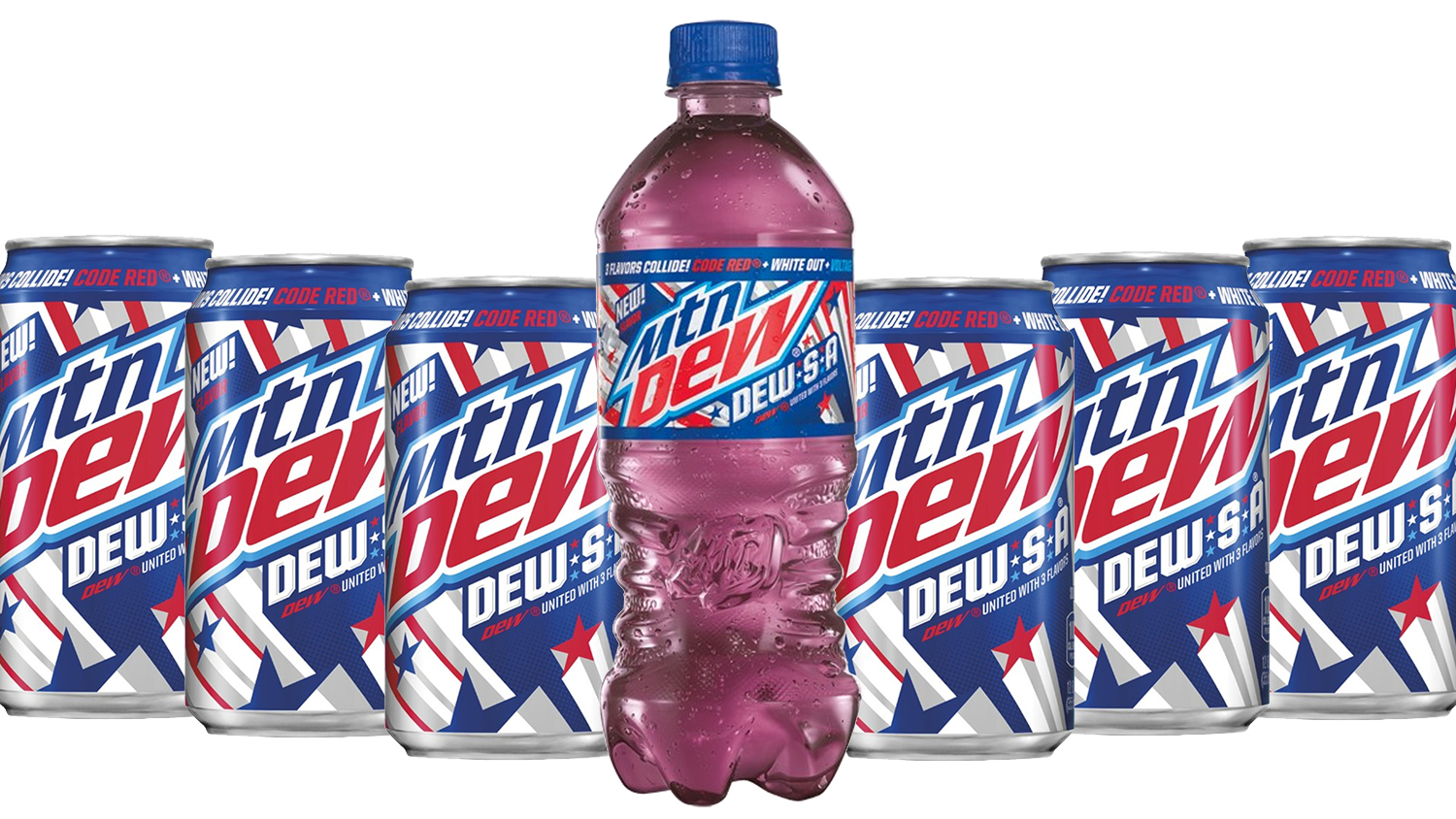 Mountain Dew new flavor DEW-S-A