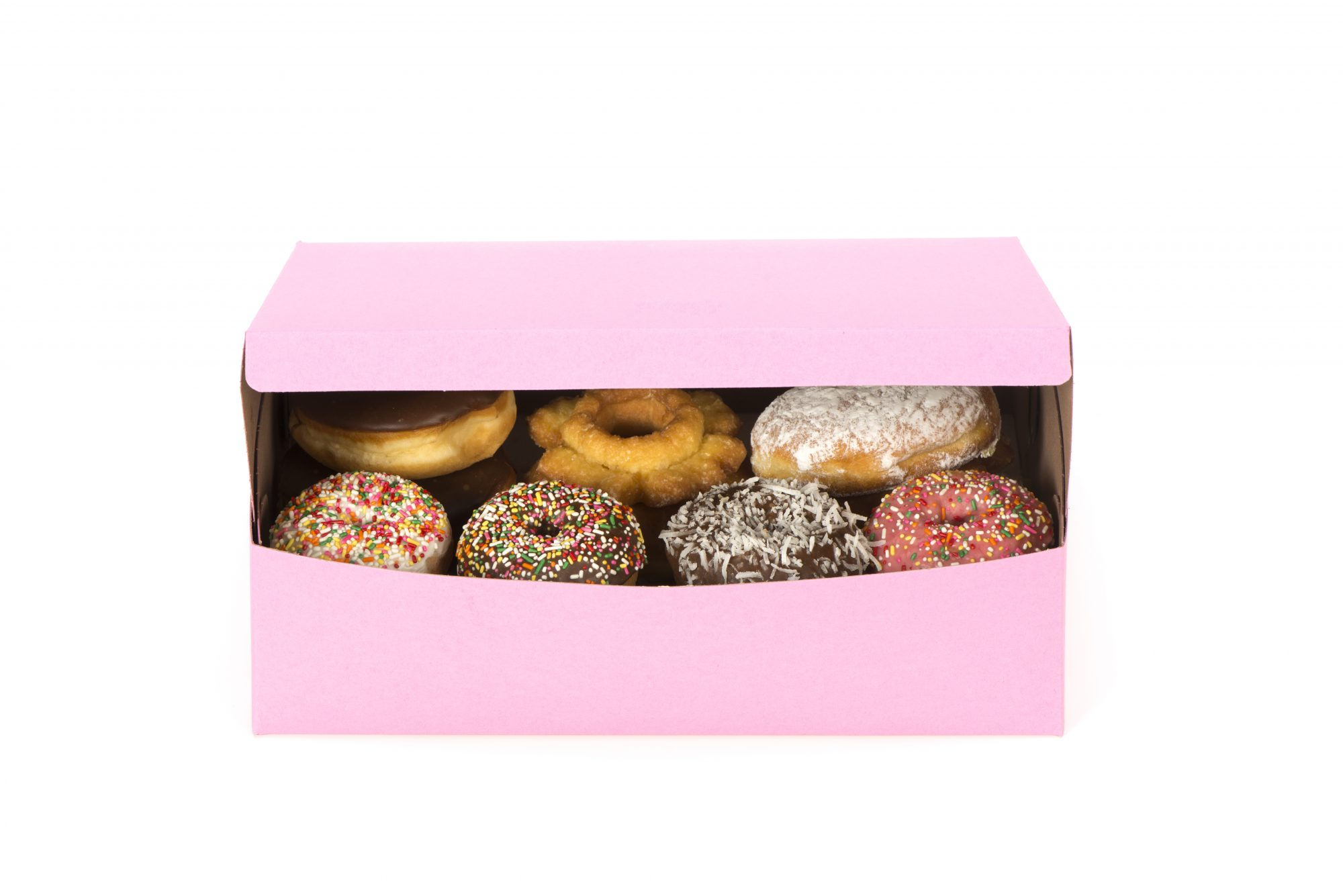This Is the Reason Doughnut Boxes Are (Usually) Pink