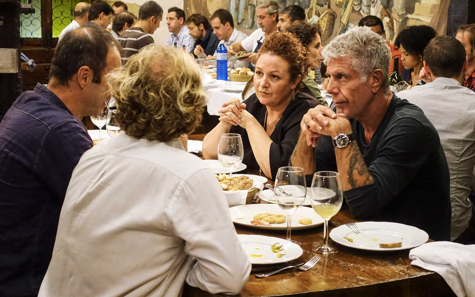 Why Anthony Bourdain Doesn't Want You to Go to San Sebastian
