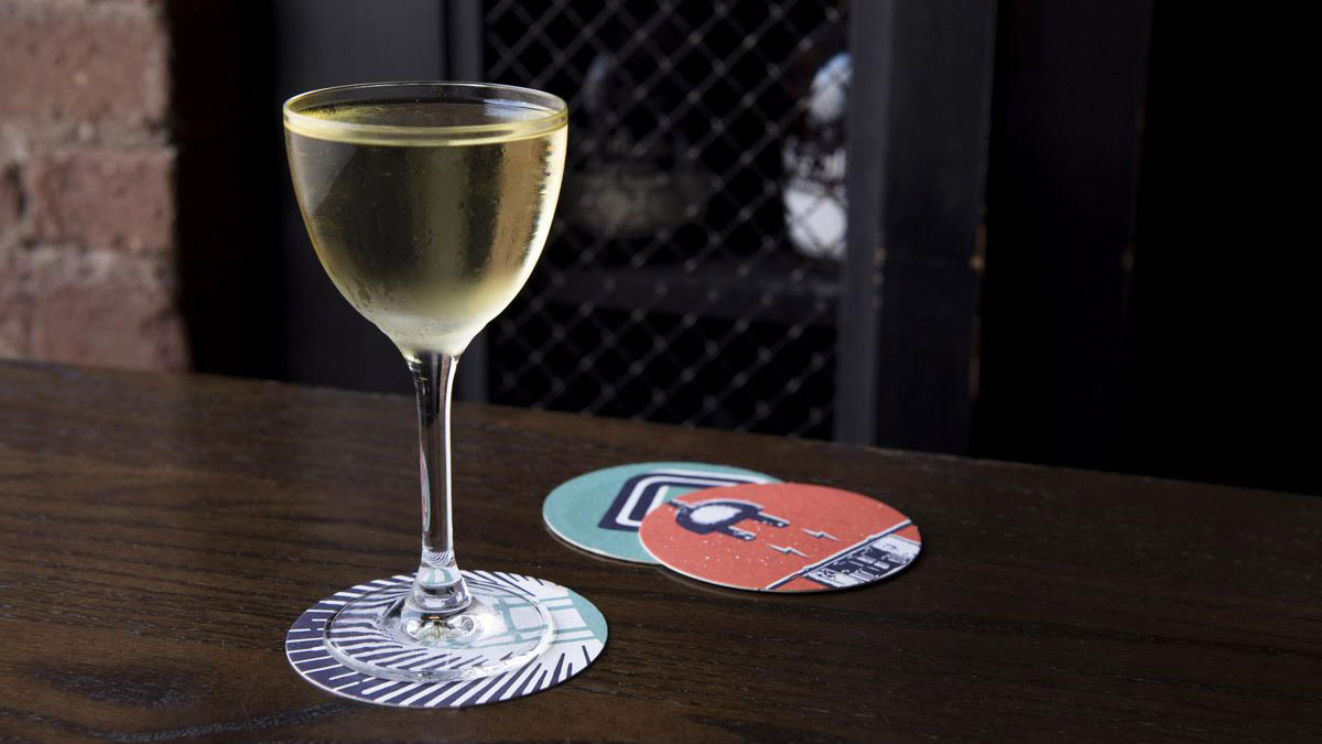 The Best Summer Martini Is Made with Sherry and Chartreuse