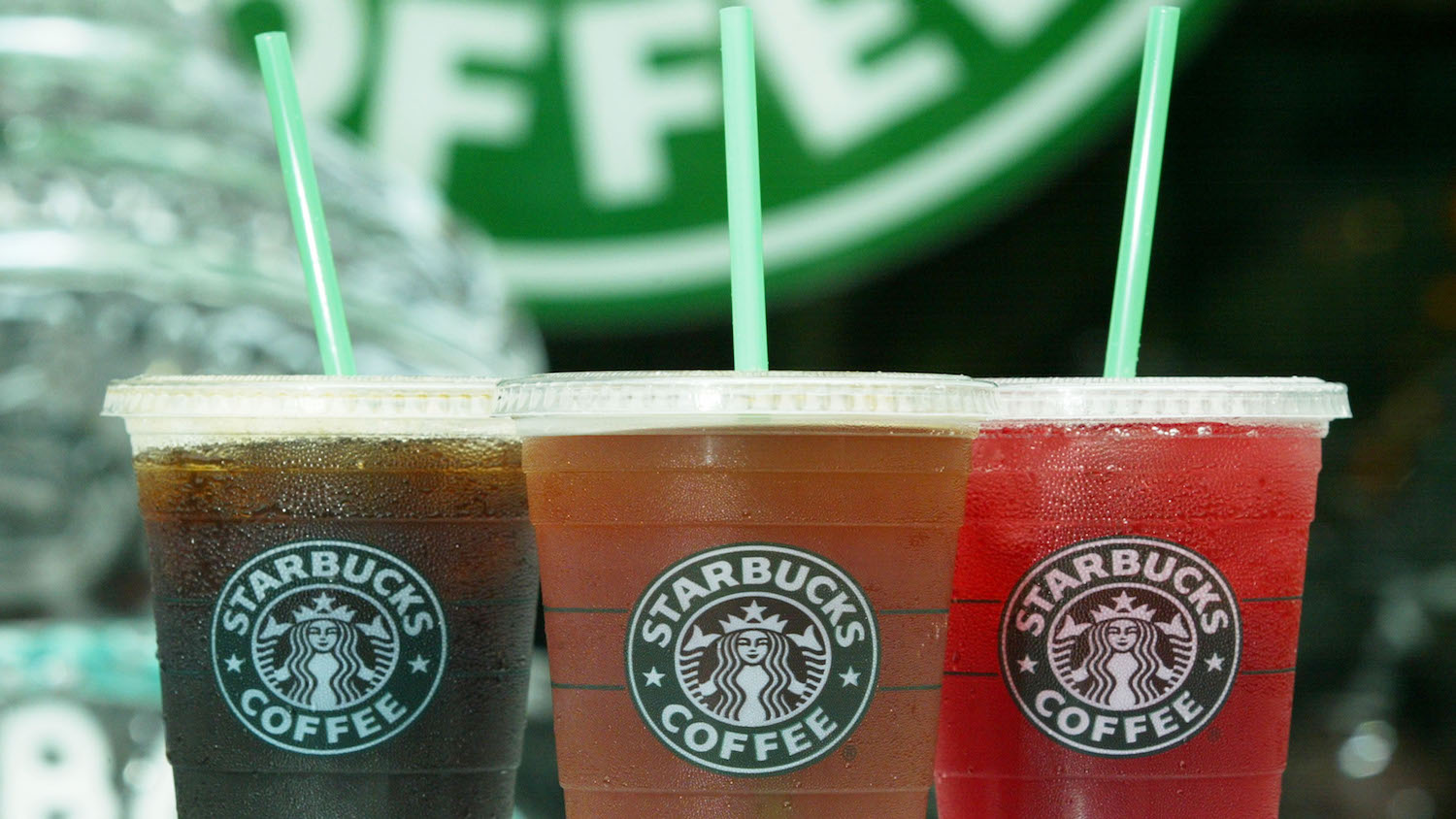 Starbucks pink ombre drink