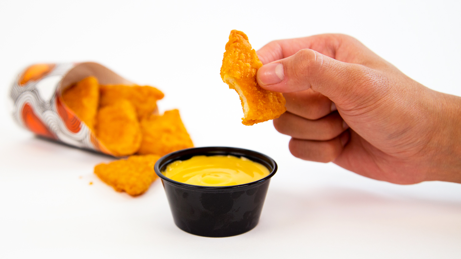 taco bell's naked chicken chips are the triangular mcnugget