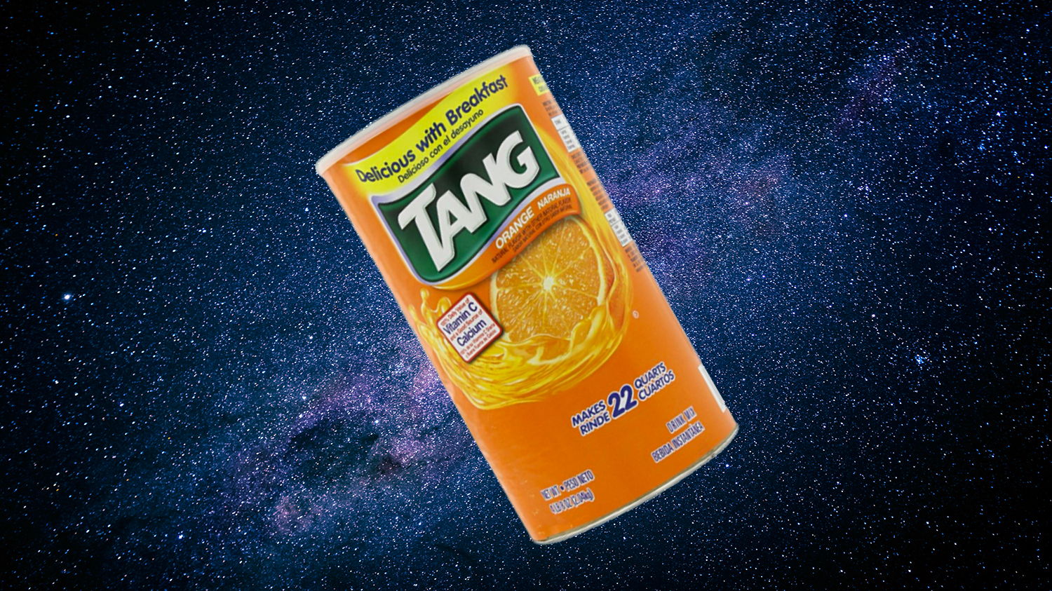 astronauts make tang in space