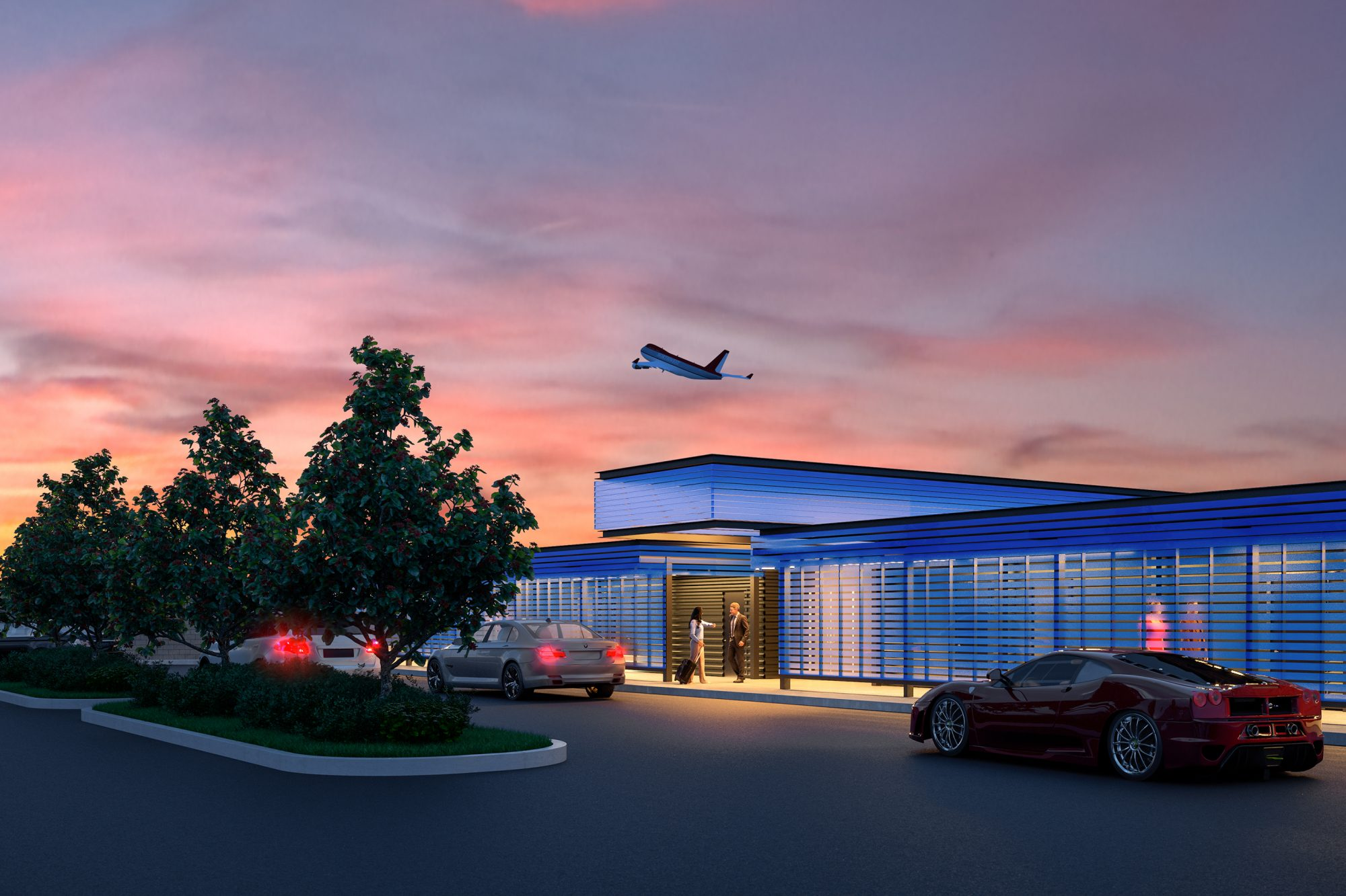 LAX Opened a Private Terminal for the Rich and Famous. Here's What It Looks Like