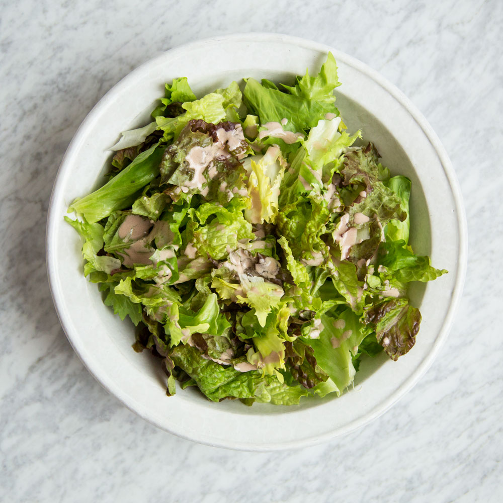 Winter Salad with Walnut Milk Vinaigrette