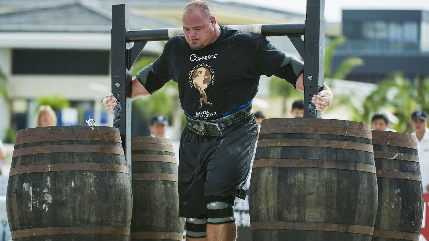 This Is What the World's Strongest Man Eats in a Day