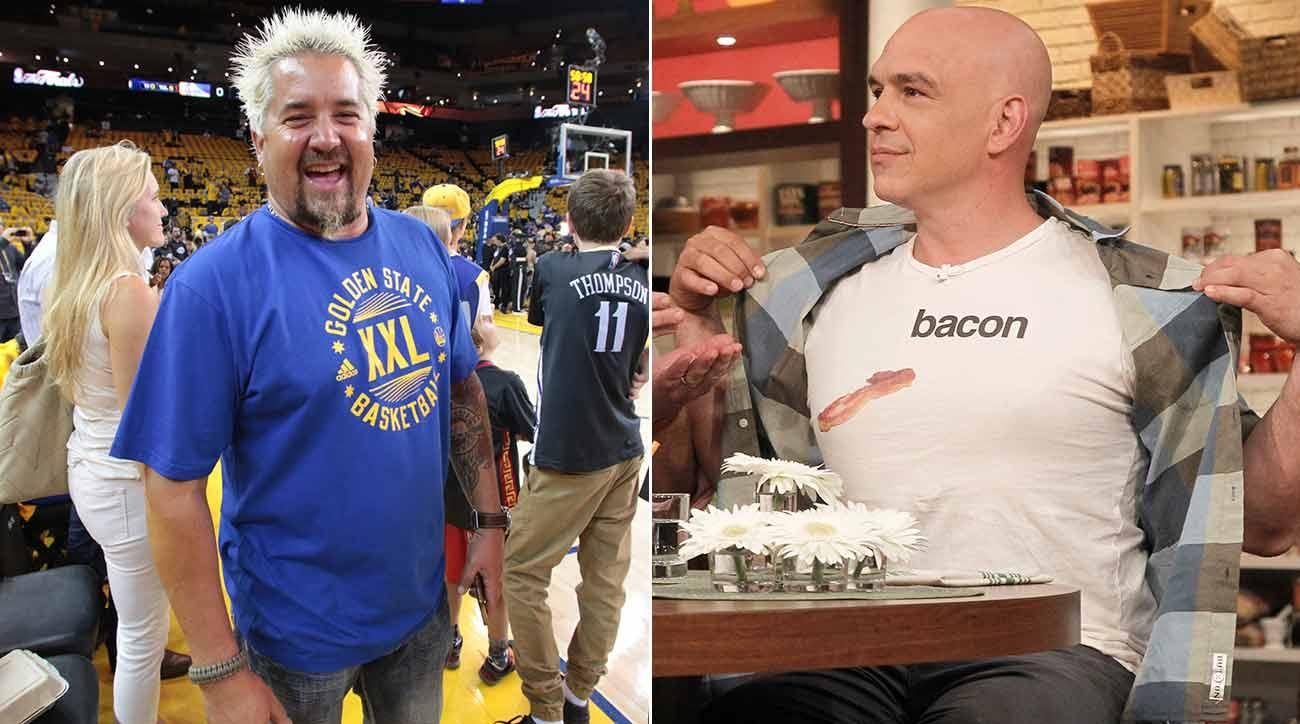 Two Chefs, Two NBA Teams And One Tasty Beef