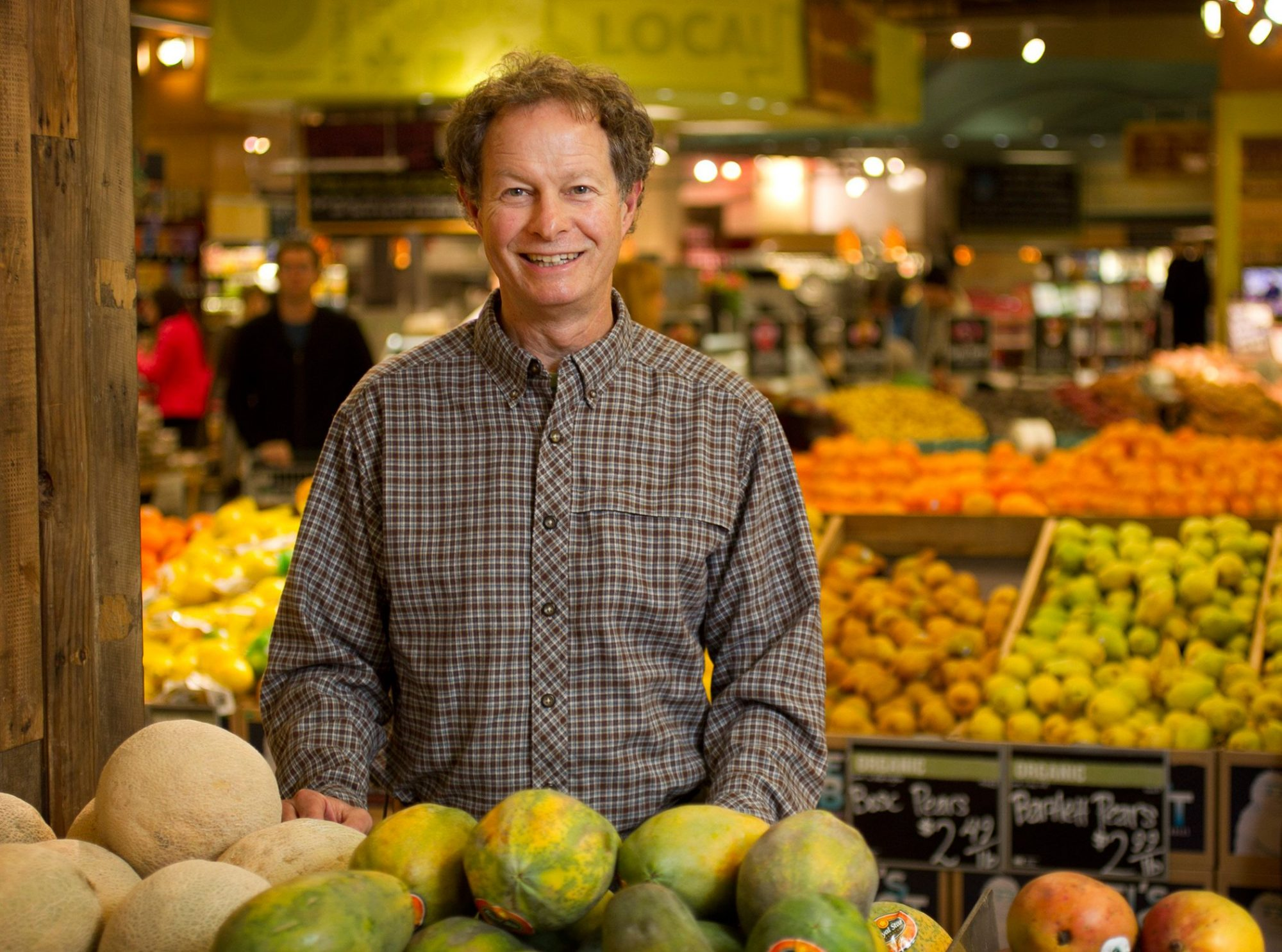 Whole Foods CEO John Mackey on Monday Dec. 31, 2012.