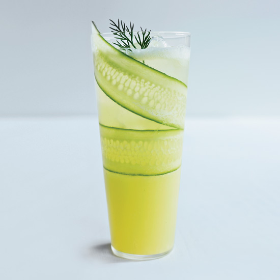 Cucumber-Lemonade Mocktail