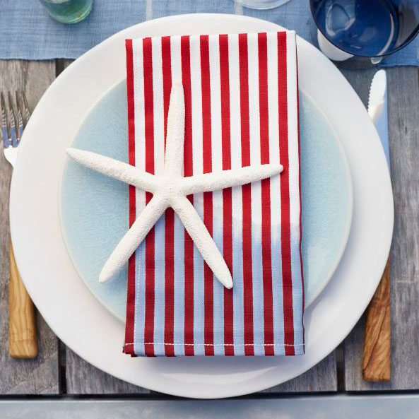 Stars-and-Stripes Napkins