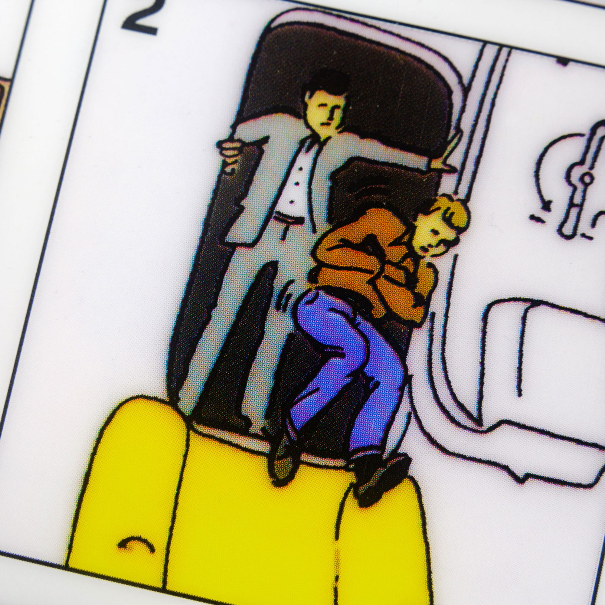 It's always a great idea to be on the good side of people who are responsible for your comfort and safety on a plane.