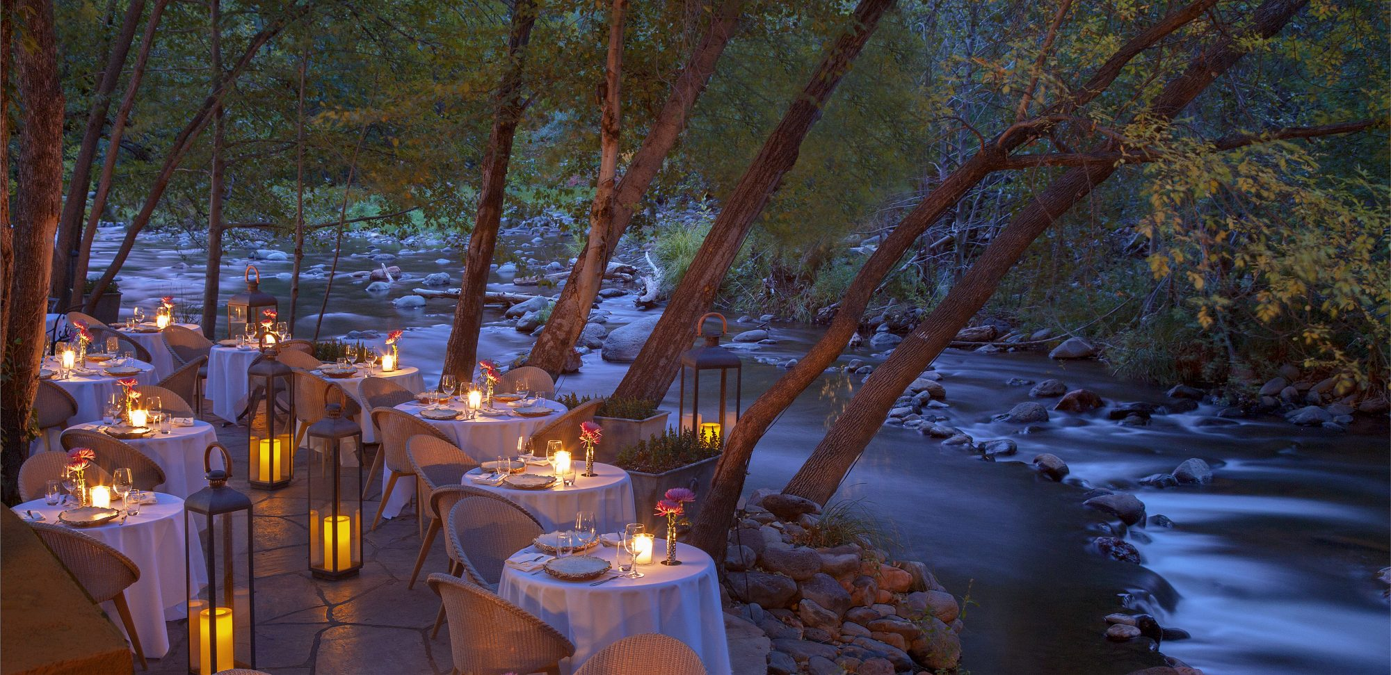 The 100 Most Scenic Restaurants In America According To