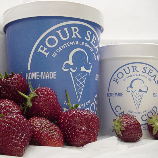 Centerville, MA: Four Seas Ice Cream