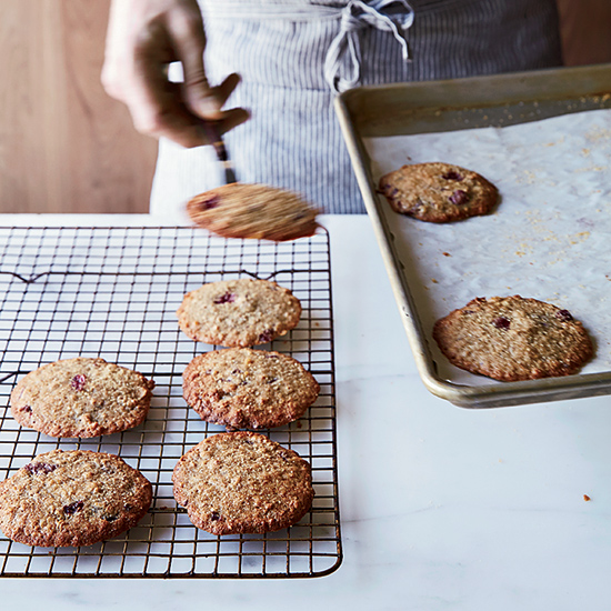 Megan Garrelts: Oatmeal-Cherry Cookies