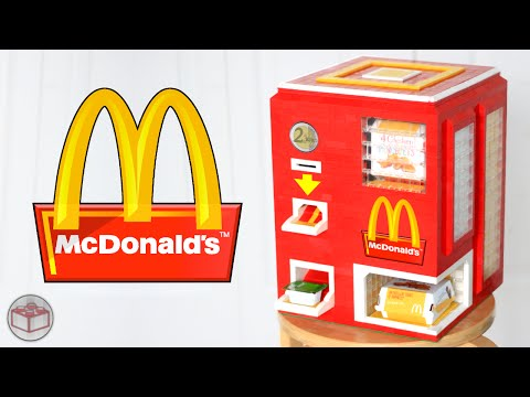 This Lego McNugget Vending Machine Combines Two of Your Childhood Favorites