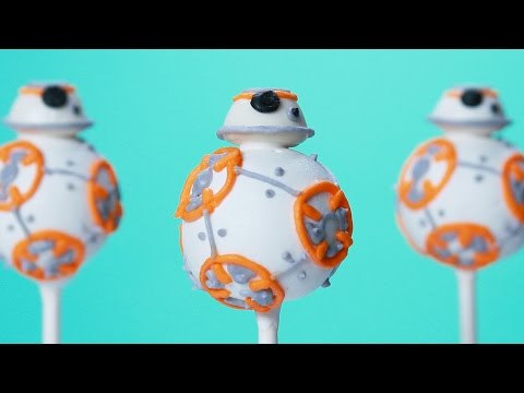 Learn How to Make Cute BB-8 Cake Pops