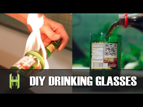 Turn Beer Bottles Into Drinking Glasses With A Flame and Some String