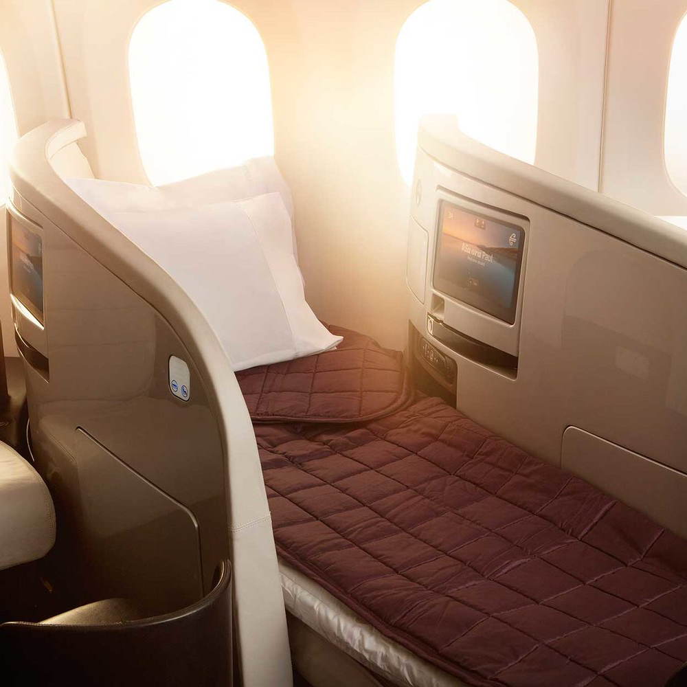 First Class, Amenities, Travel + Leisure
