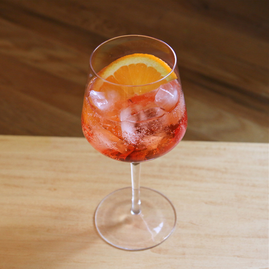 APEROL COCKTAIL WINE GLASS