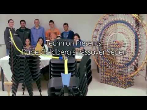 Passover Seder Goes Next Level with This Crazy Rube Goldberg Machine